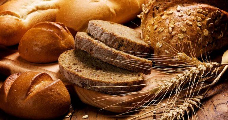 Pães com grãos